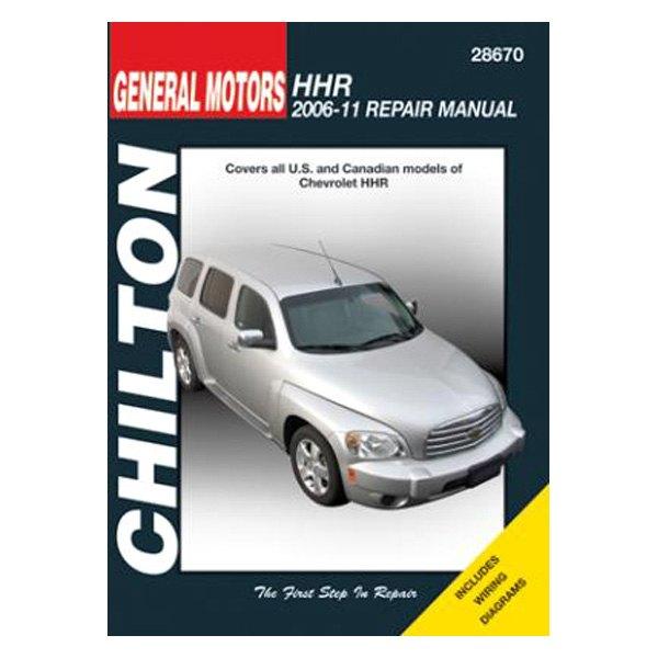 chevy hhr 2006 2011 chilton general motors hhr repair manual ebay rh ebay com 2006 hhr service manual chevy hhr service manual pdf