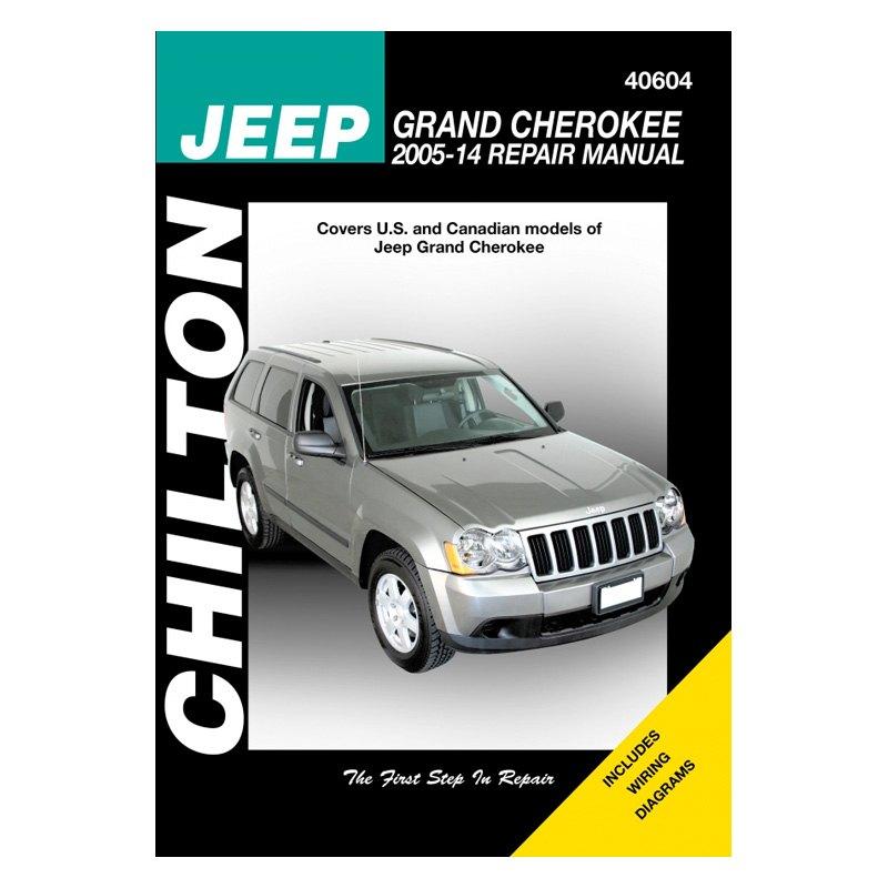 for jeep grand cherokee 2005 2014 chilton jeep grand cherokee repair manual 9781563928345 ebay. Black Bedroom Furniture Sets. Home Design Ideas