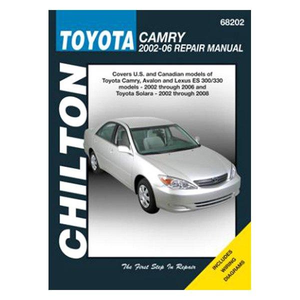 chilton 68202 toyota camry avalon lexus es 300 repair manual. Black Bedroom Furniture Sets. Home Design Ideas
