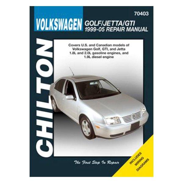Volkswagen Jetta Dealer Parts: Volkswagen Golf/Jetta/GTI Repair Manual