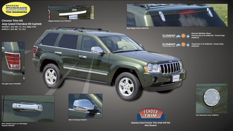 Jeep Grand Cherokee. Jeep Grand Cherokee Trim
