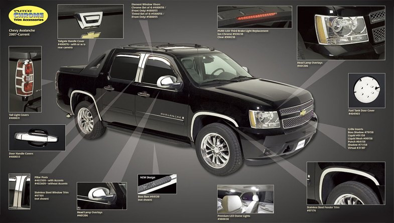 Chevy Avalanche Parts And Accessories Car Interior Design