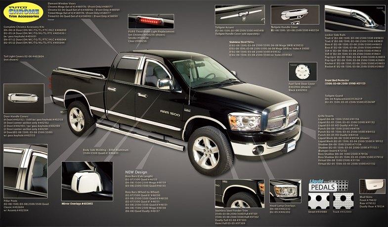 2004 Dodge Ram 1500 Interior Accessories Brokeasshome Com