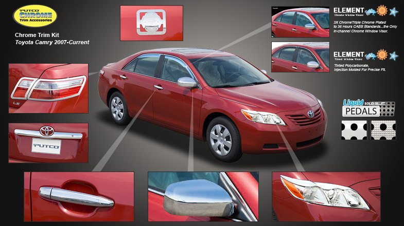 Toyota Camry 2011 Pictures. 2011 TOYOTA CAMRY CHROME