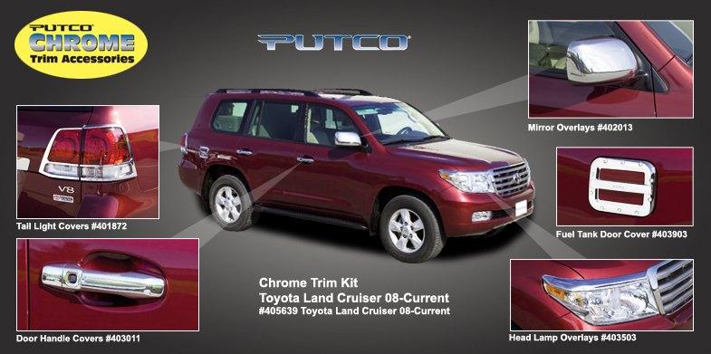 Toyota Land Cruiser Trim Chrome - 2011