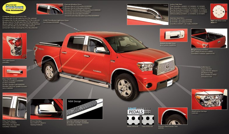 Toyota Tundra Chrome Accessories Parts Carid ml
