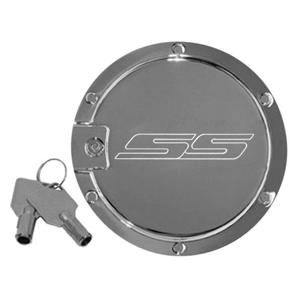 Defenderworx 174 Cc 1004 Locking Chrome Gas Cap With Ss Logo