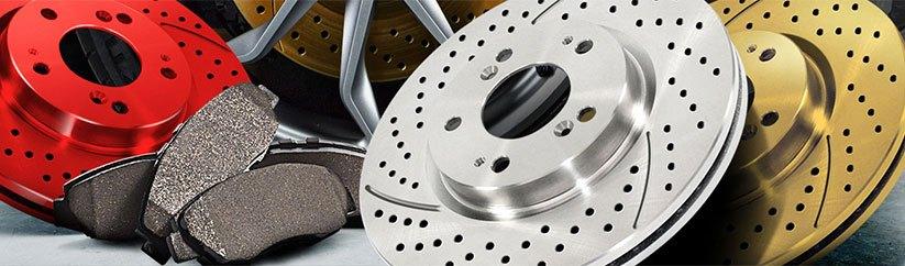 2005 Saab 9-5 w//Rear Solid Rotors OE Replacement Rotors Ceramic Pads R