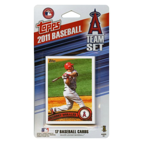 Ci Collectibles 11angelsfp Mlb Los Angeles Angels 2011 Team Fan Pack