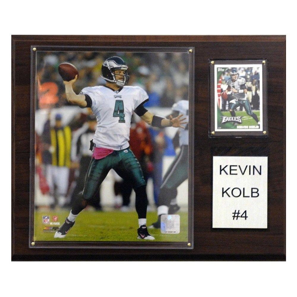 timeless design 22197 7065d C&I Collectibles® 1215KOLB - NFL Philadelphia Eagles Kevin Kolb Individual  Player Plaque