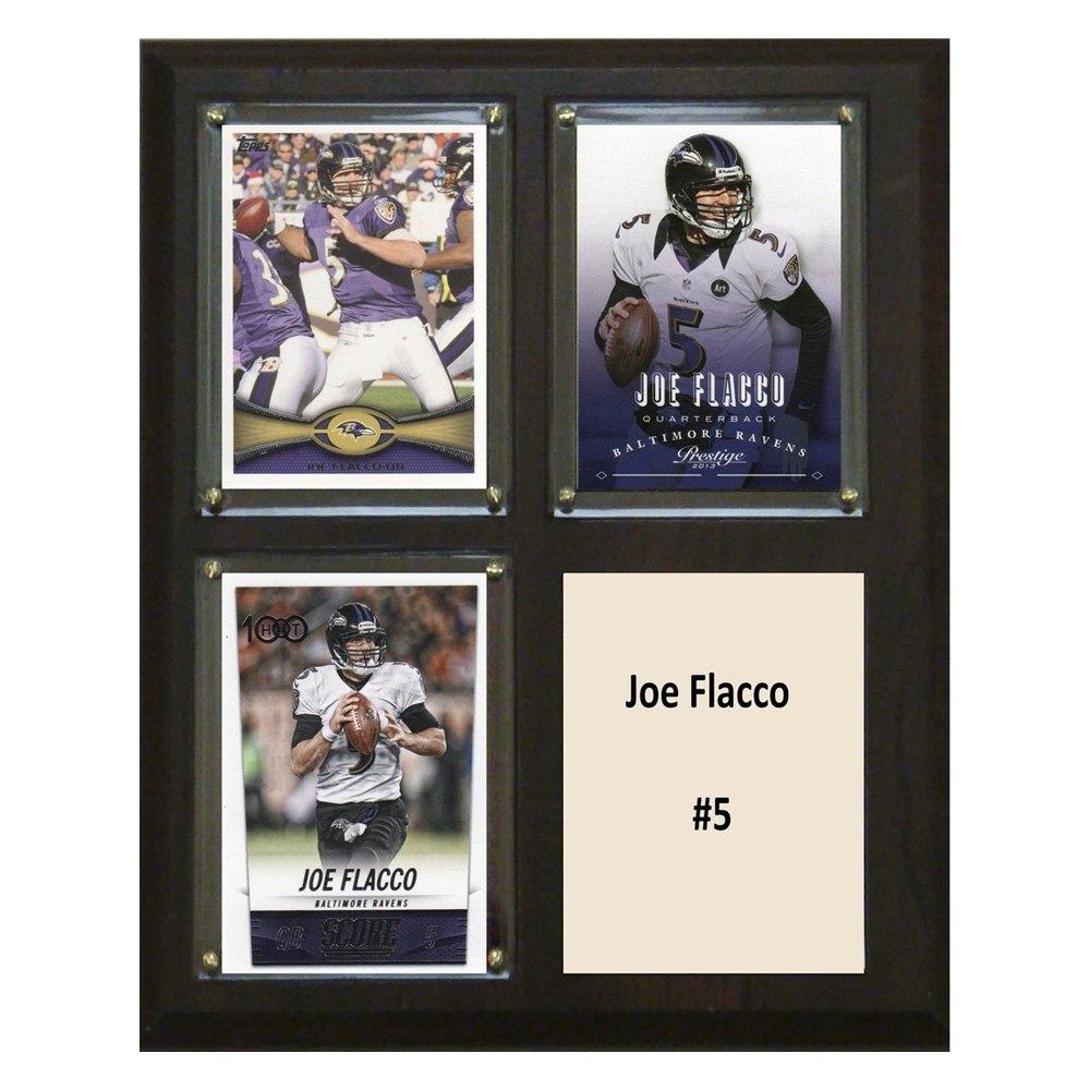 C&I Collectibles® 810FLACCO3C - NFL Baltimore Ravens Joe Flacco 8