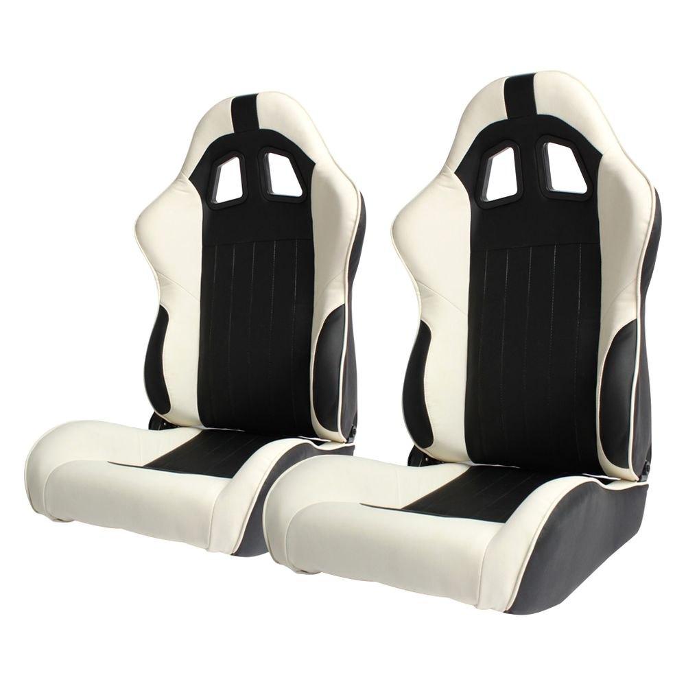 cipher auto®  cpa series reclining steel tubular frame racing  - cipher auto®  cpa series reclining steel tubular frame racing seatsblack leatherette cover