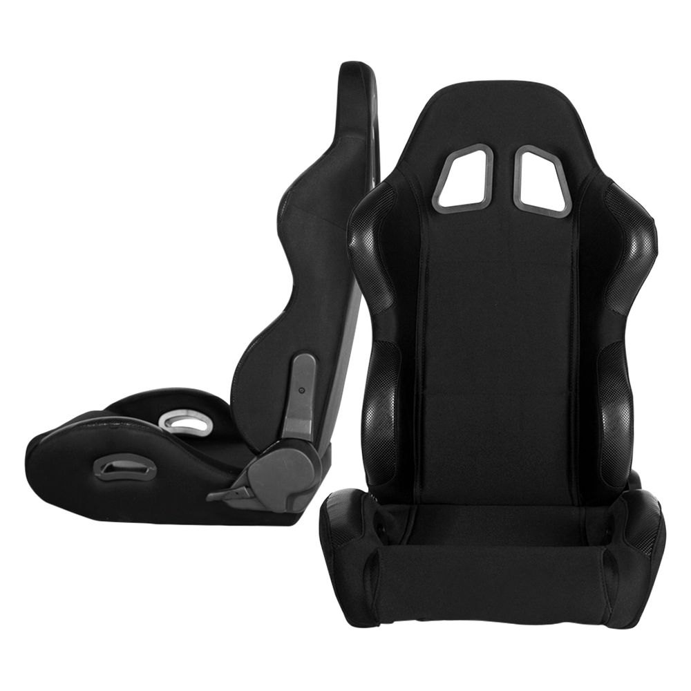 Cipher Auto® - CPA1025 Series Reclining Steel Tubular Frame Racing Seats ...  sc 1 st  CARiD.com & Cipher Auto® CPA1025FBK - CPA1025 Series Reclining Steel Tubular ... islam-shia.org