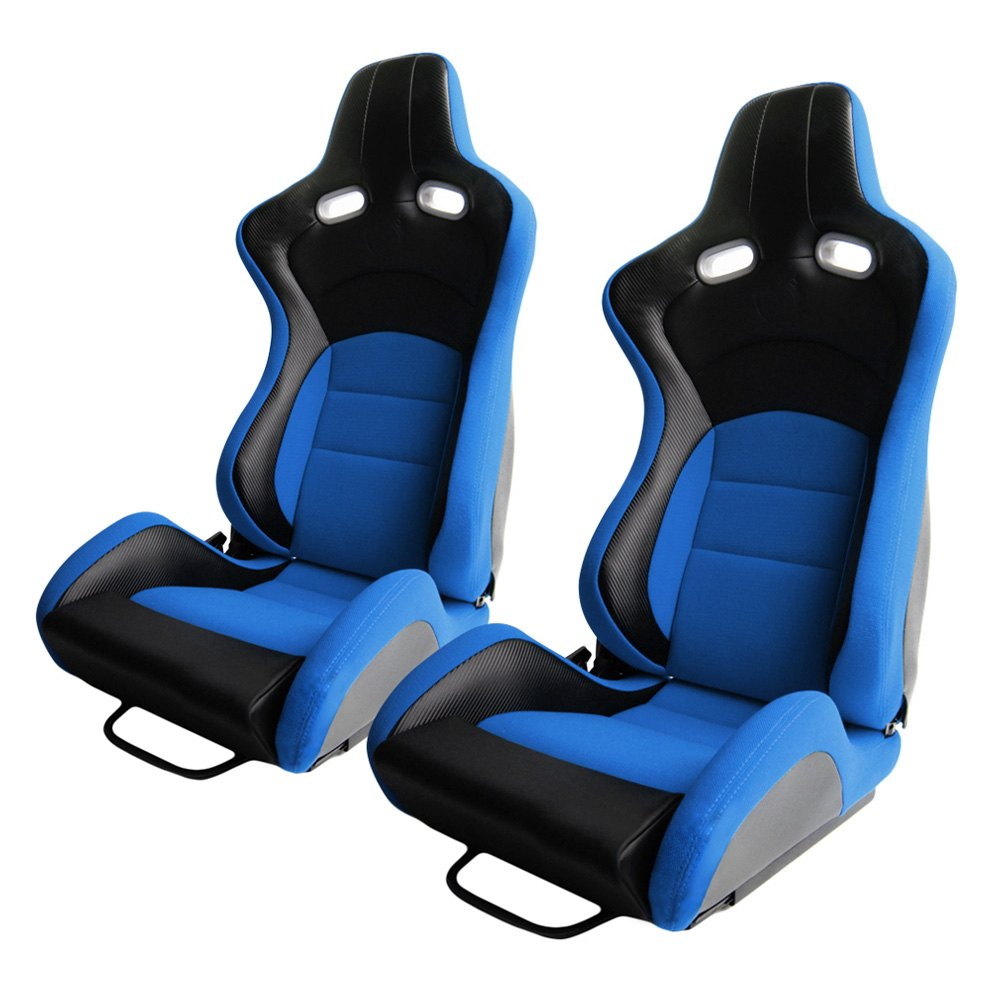 Cipher Auto®   CPA2003 VP 8 Series Reclinable Steel Tubular Frame Racing  Seats,