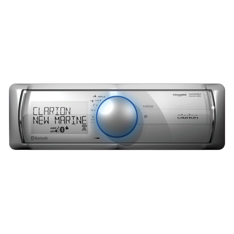 Clarion bluetooth marine stereo