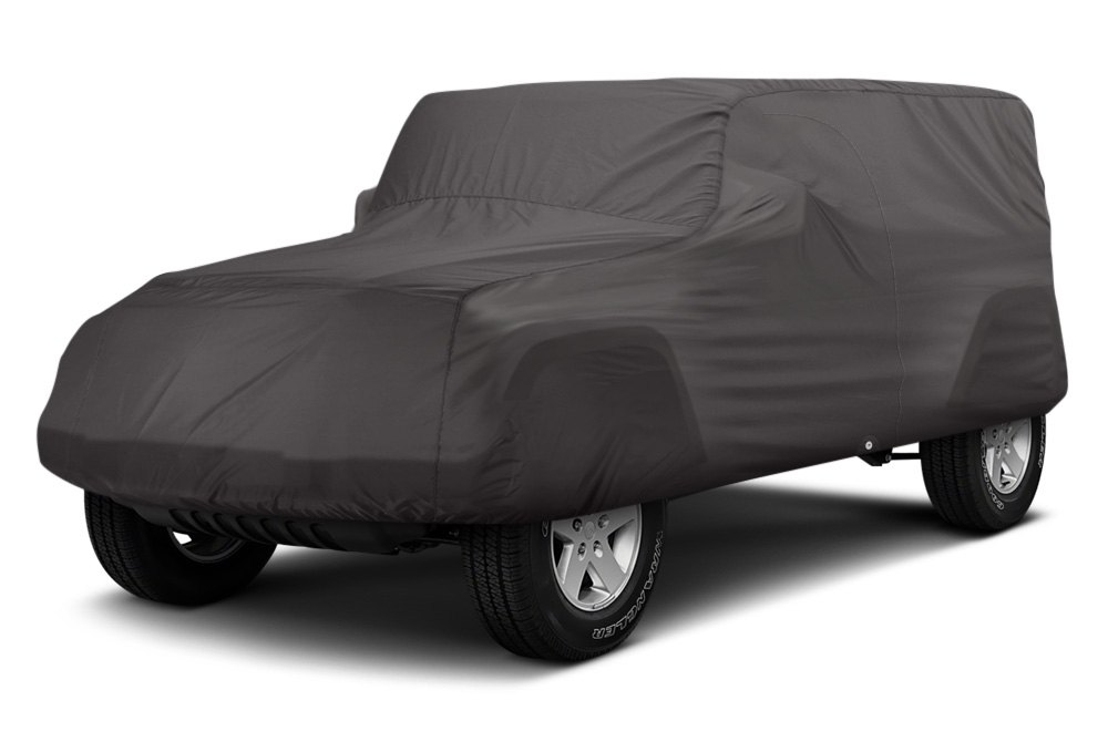 1a7725e9e8 For Jeep Wrangler JK 18 OverDrive PolyPRO 3 Charcoal Jeep Cover | eBay