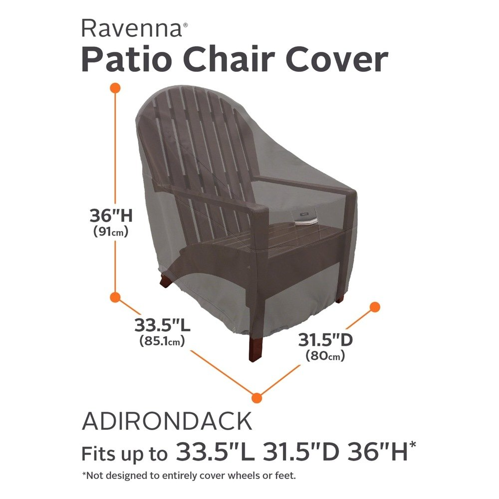 Classic Accessories 55 165 EC Ravenna™ Adirondack Chair Cover 31 5