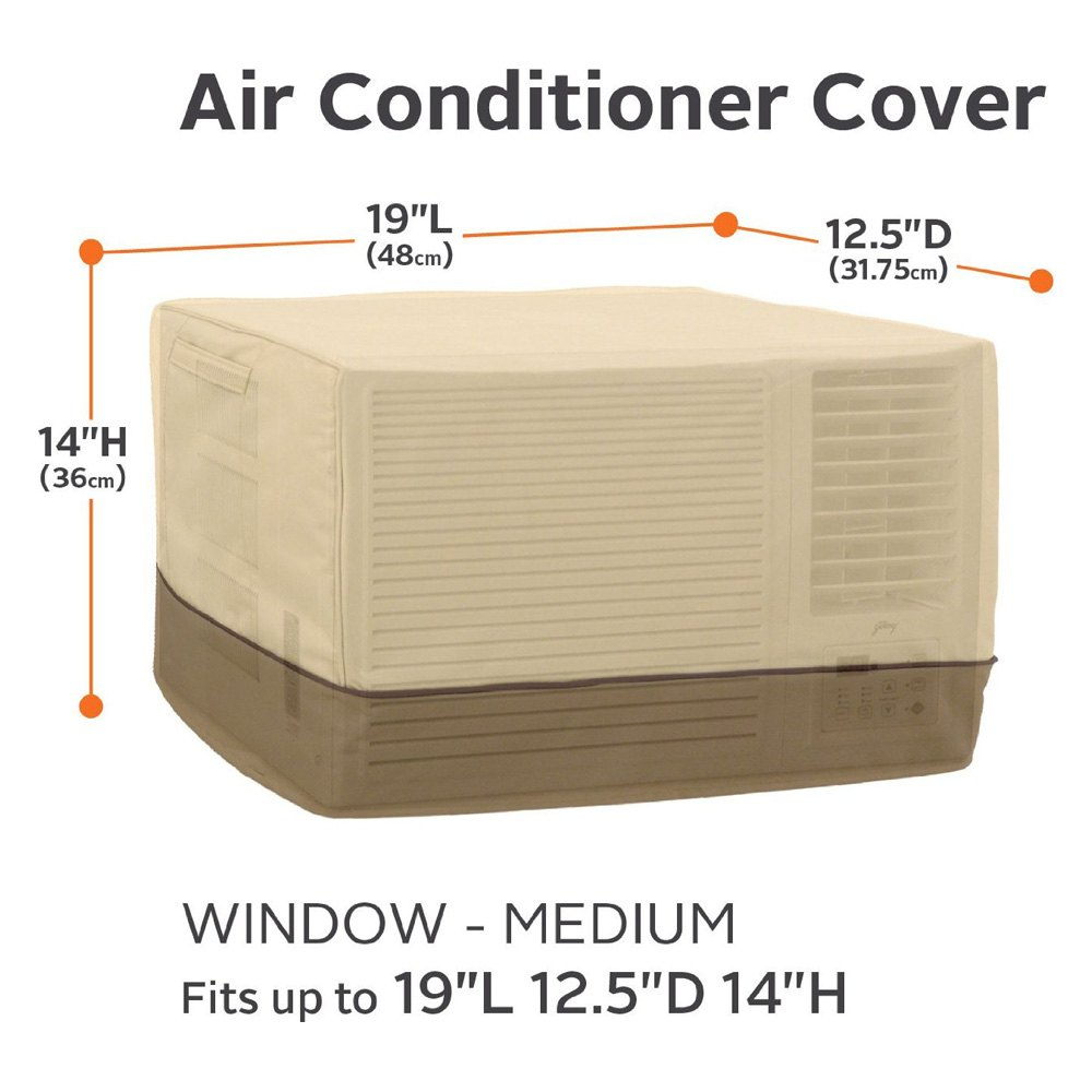 Classic accessories 55 452 150301 rt veranda window air for 12 x 19 window air conditioner