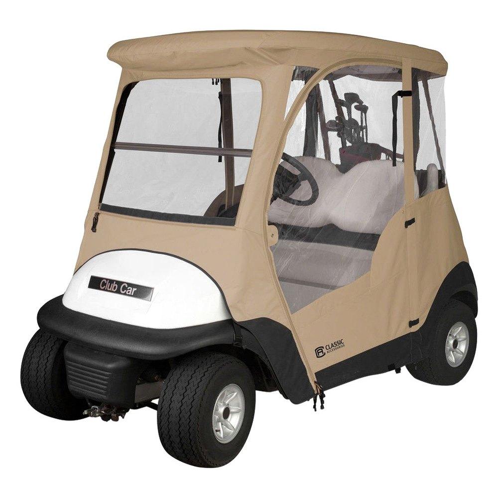 Golf Cart Roofs Classic Accessories - Fairway 2-Person Club Car Precedent ...