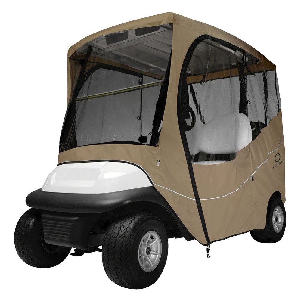 Classic accessories 2 person fairway travel golf car enclosure ebay for Travel gear car