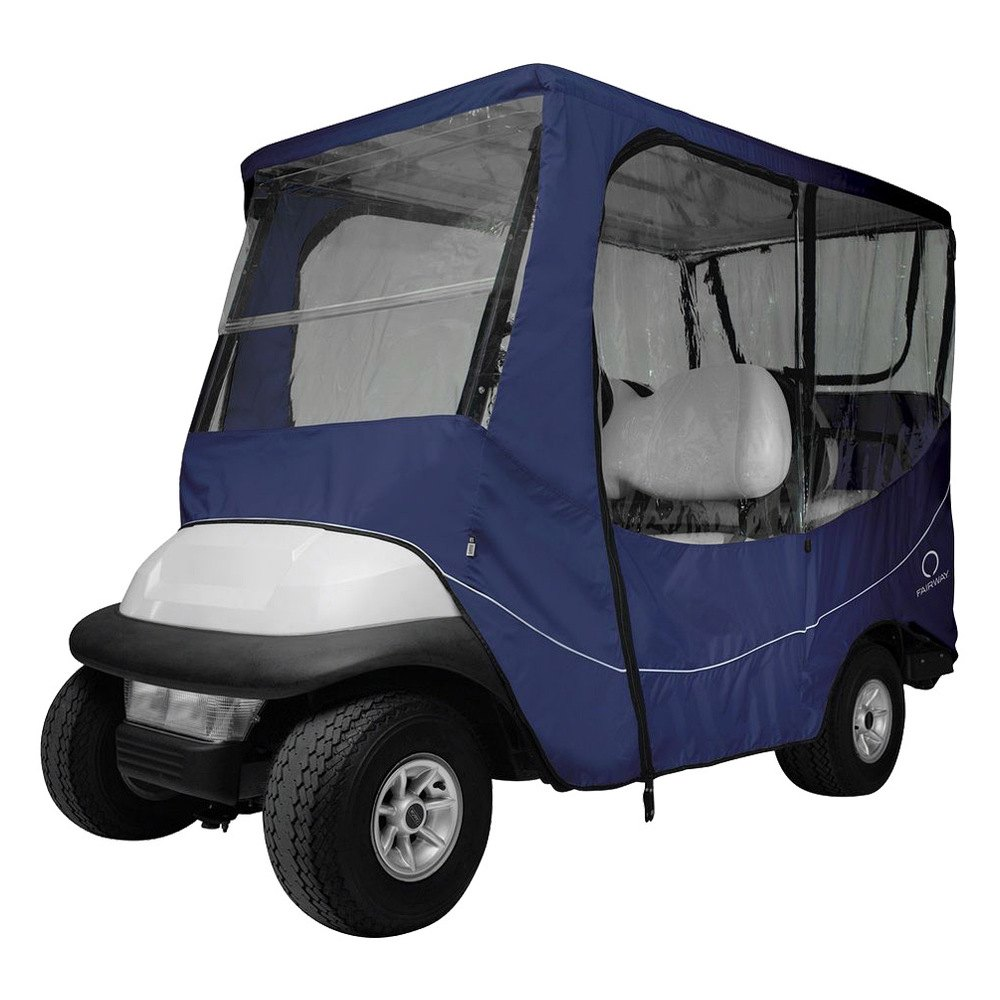 Classic accessories fairway travel golf car enclosure for Travel gear car