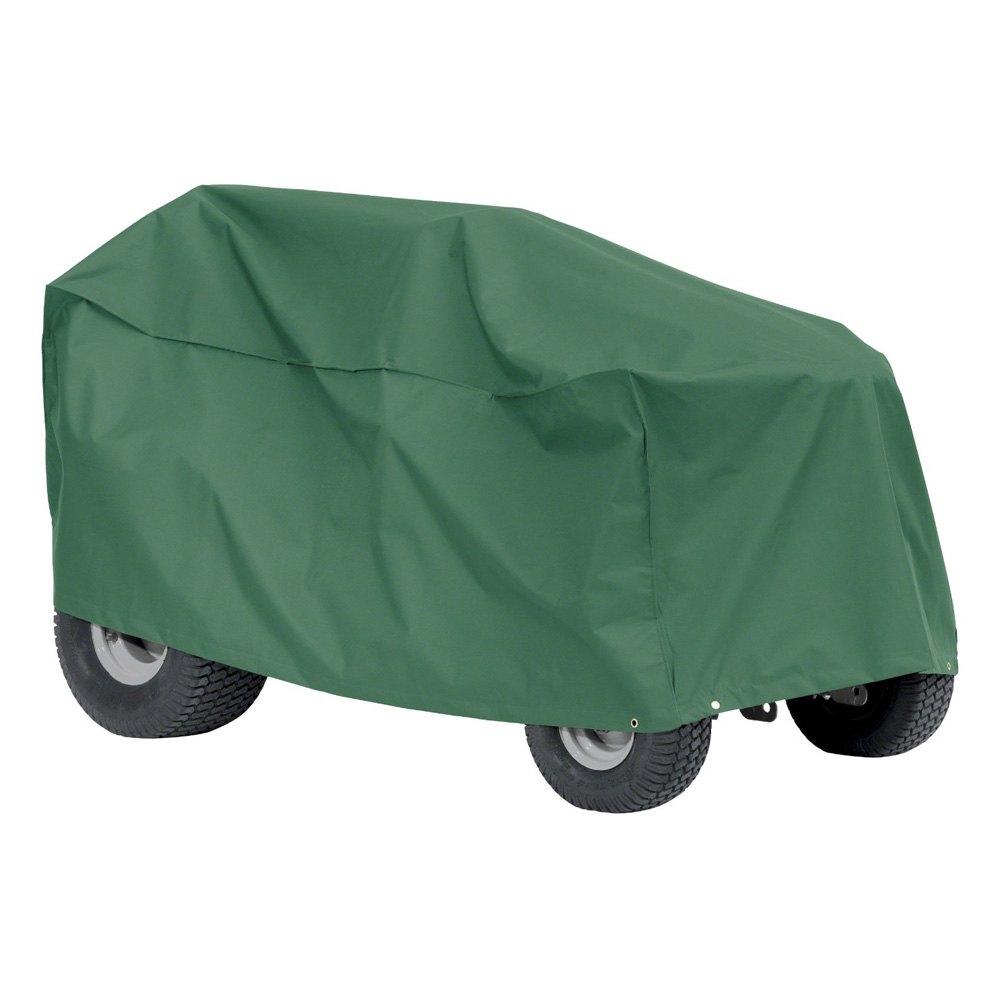 Classic accessories atrium green lawn mower cover for Lawn garden accessories