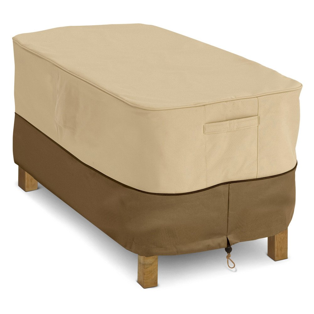 Classic accessories 55 121 011501 00 veranda rectangular coffee table cover Coffee table accessories