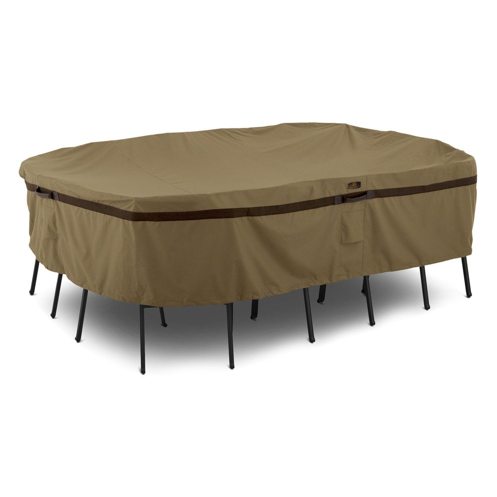 "Classic Accessories 55 214 EC Hickory™ Table Set Cover 88"" L"
