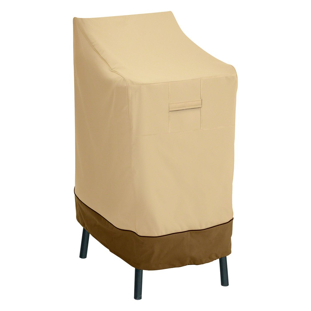 Classic accessoriesr 55 642 011501 00 verandatm bar chair for Outdoor furniture covers bar stools