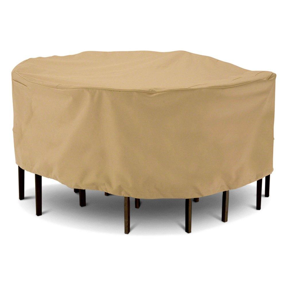 "Classic Accessories EC Terrazzo Round Sand Table Set Cover 94"""
