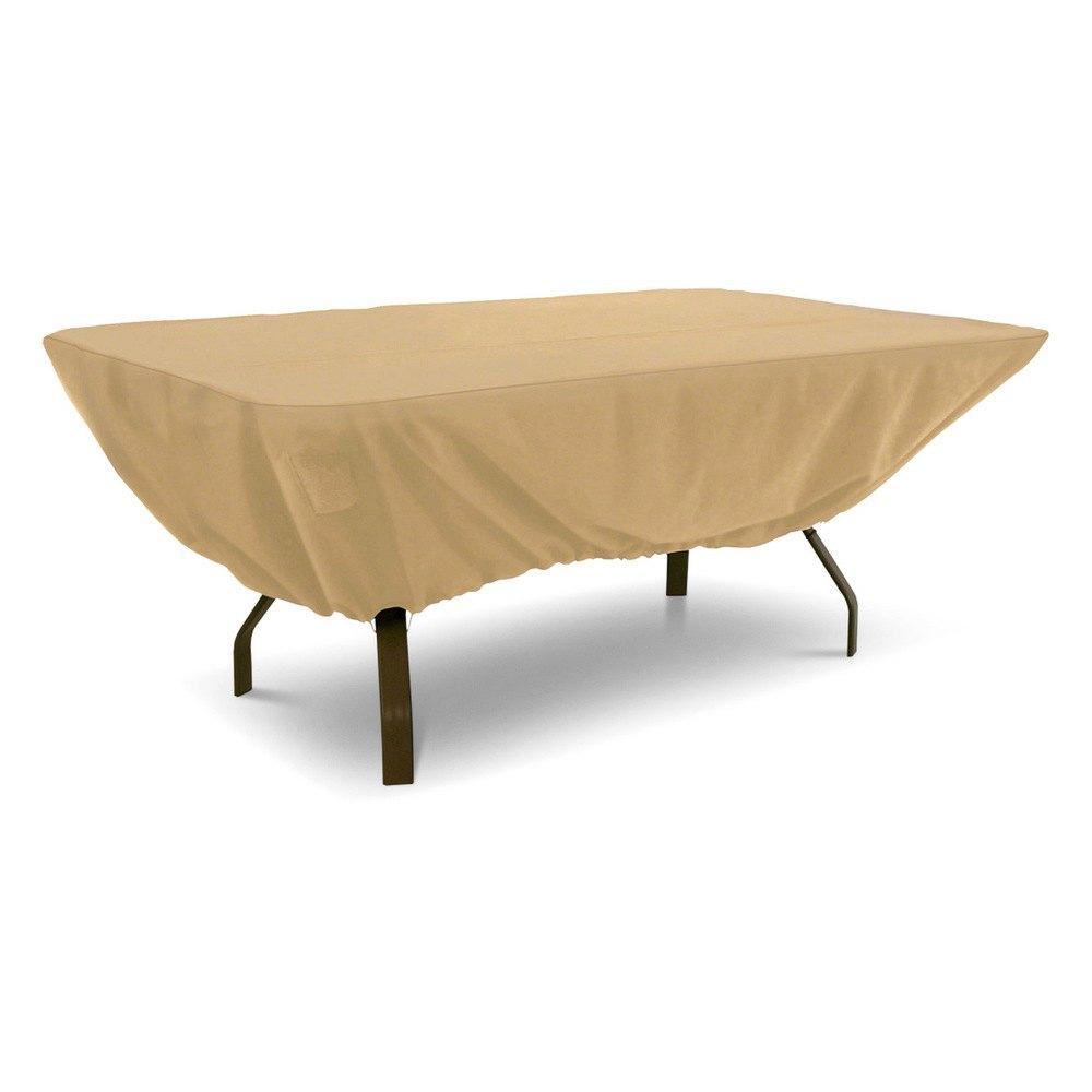 Classic accessories 58242 ec terrazzo rectangular oval for Furniture accessories