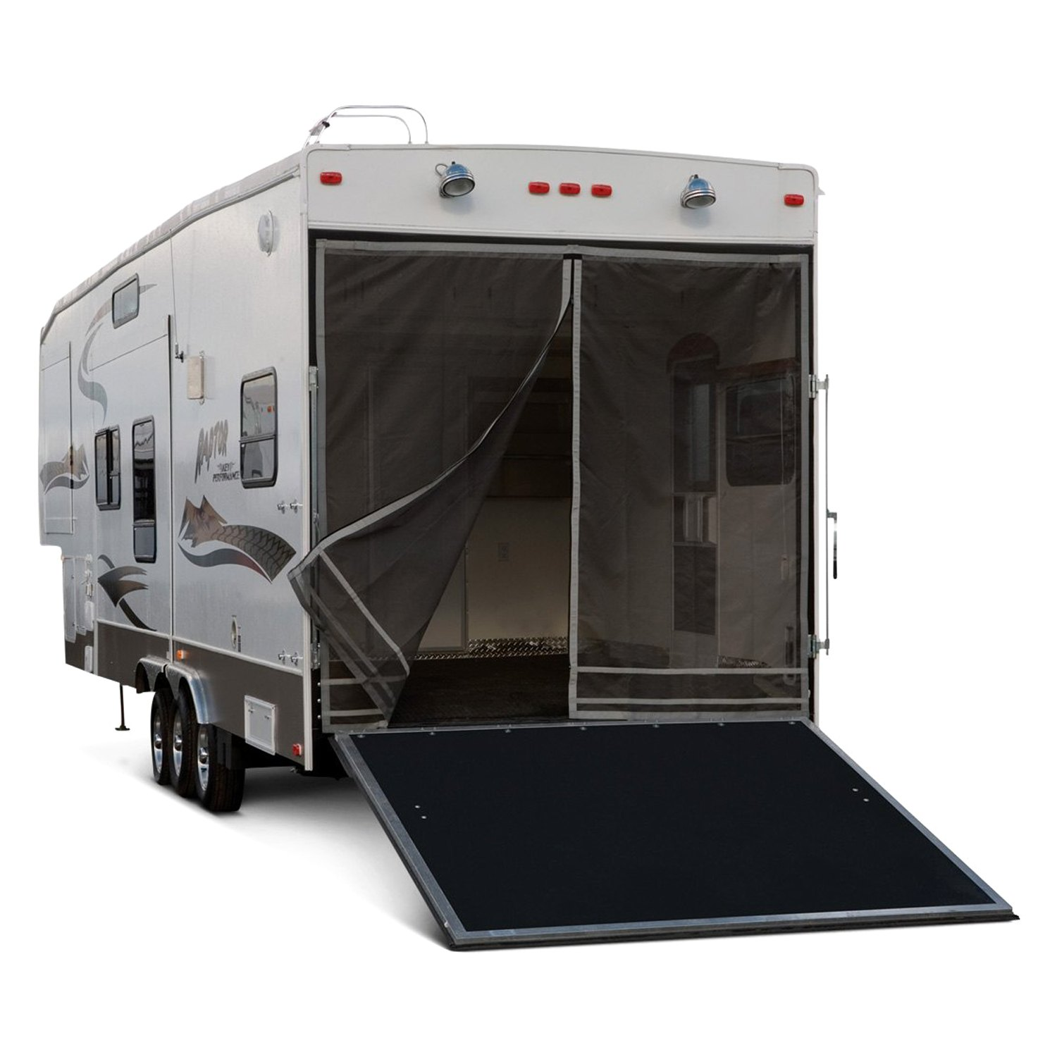 Toy Hauler With Outdoor Kitchen