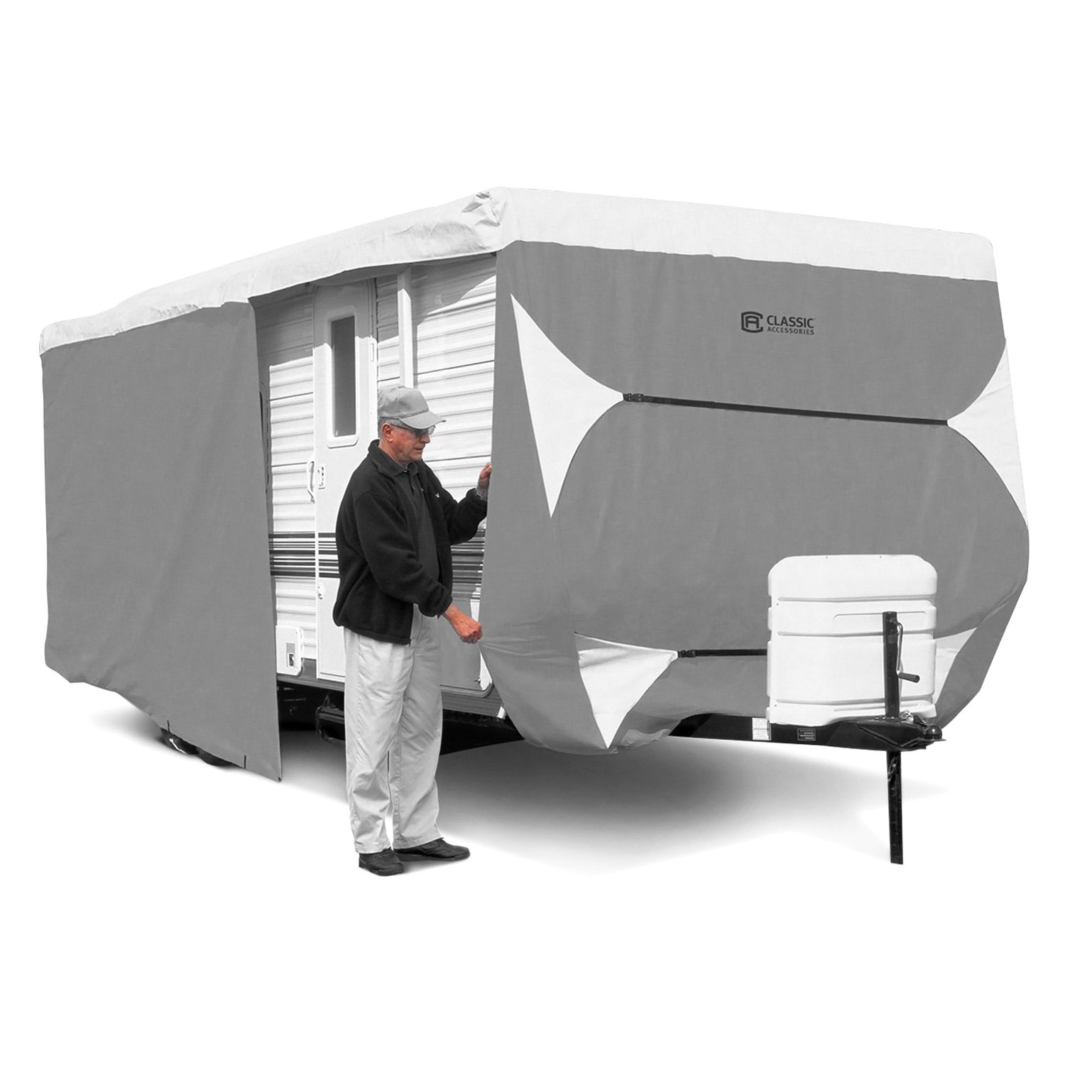 Perfect Travel Cover For Camper Trailer Tent Universal Fit For Most Models 2
