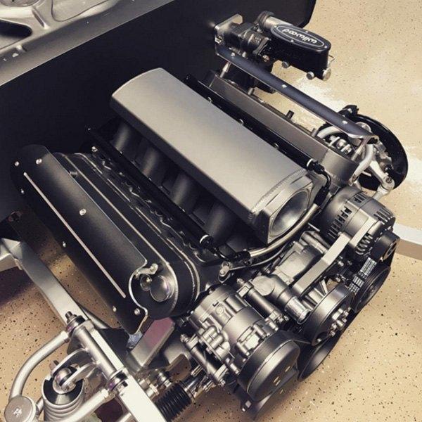 Clayton Machine Works Lsc 01 B Black Engine Coil Covers