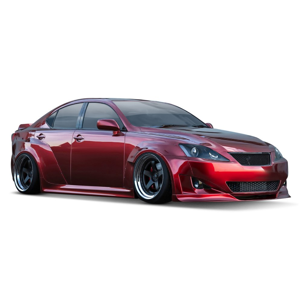 clinched flares lexus is250 is350 2013 wide body kit. Black Bedroom Furniture Sets. Home Design Ideas