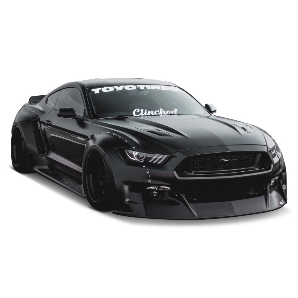 Ford Body Parts >> Clinched Flares® - Ford Mustang S550 Body Code 2017 Wide Body Kit