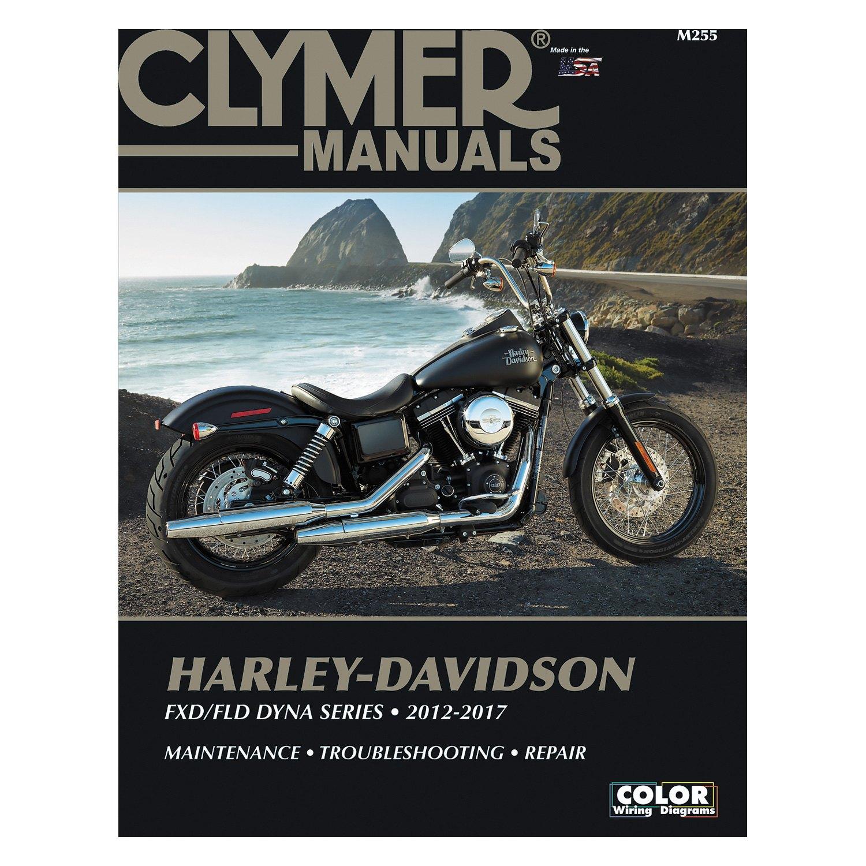 Clymer Workshop Manual Harley-Davidson FXD FLD DYNA Series 2012-2017