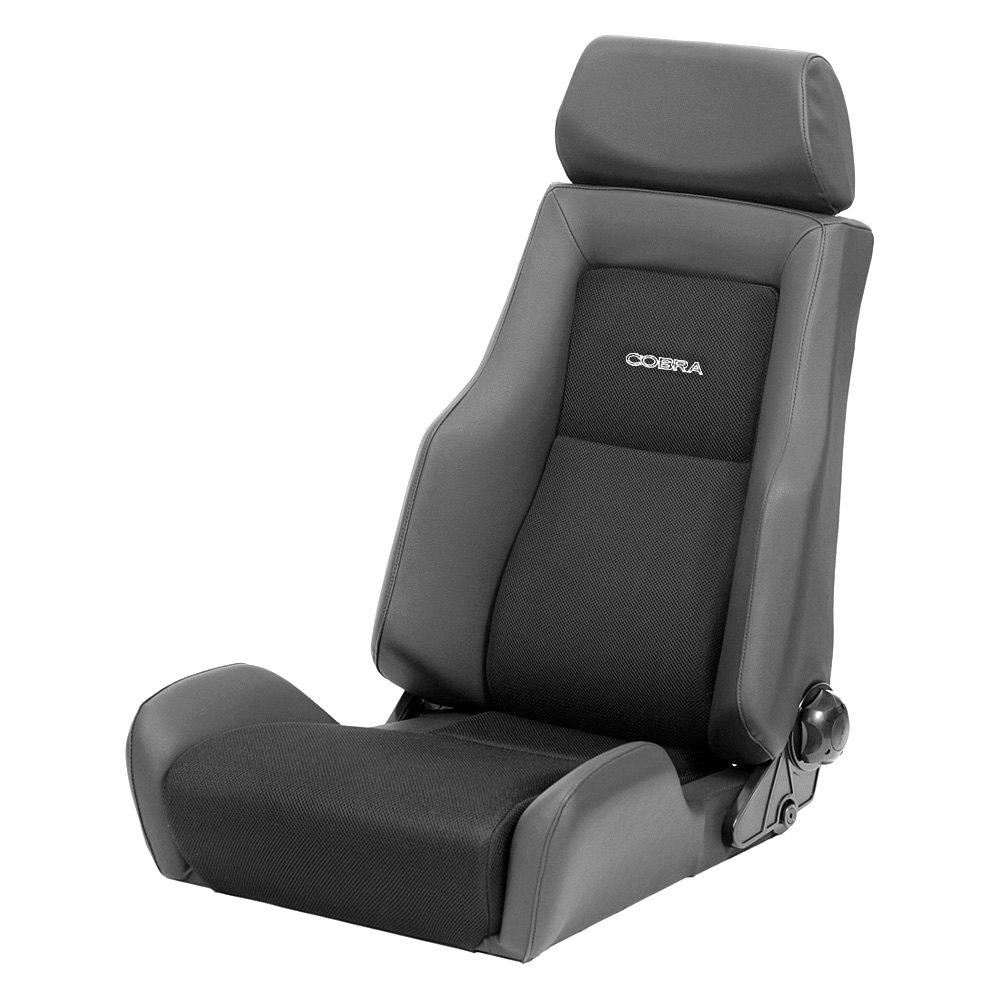 Cobra Seats Lemans Racing Seat Black Vinyl