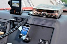 Cobra Electronics® — CB Radio With LCD Display