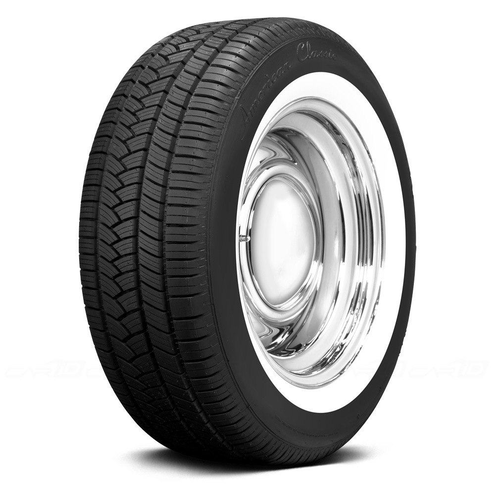 Coker american classic 1 3 4 inch whitewall tires for American classic 3