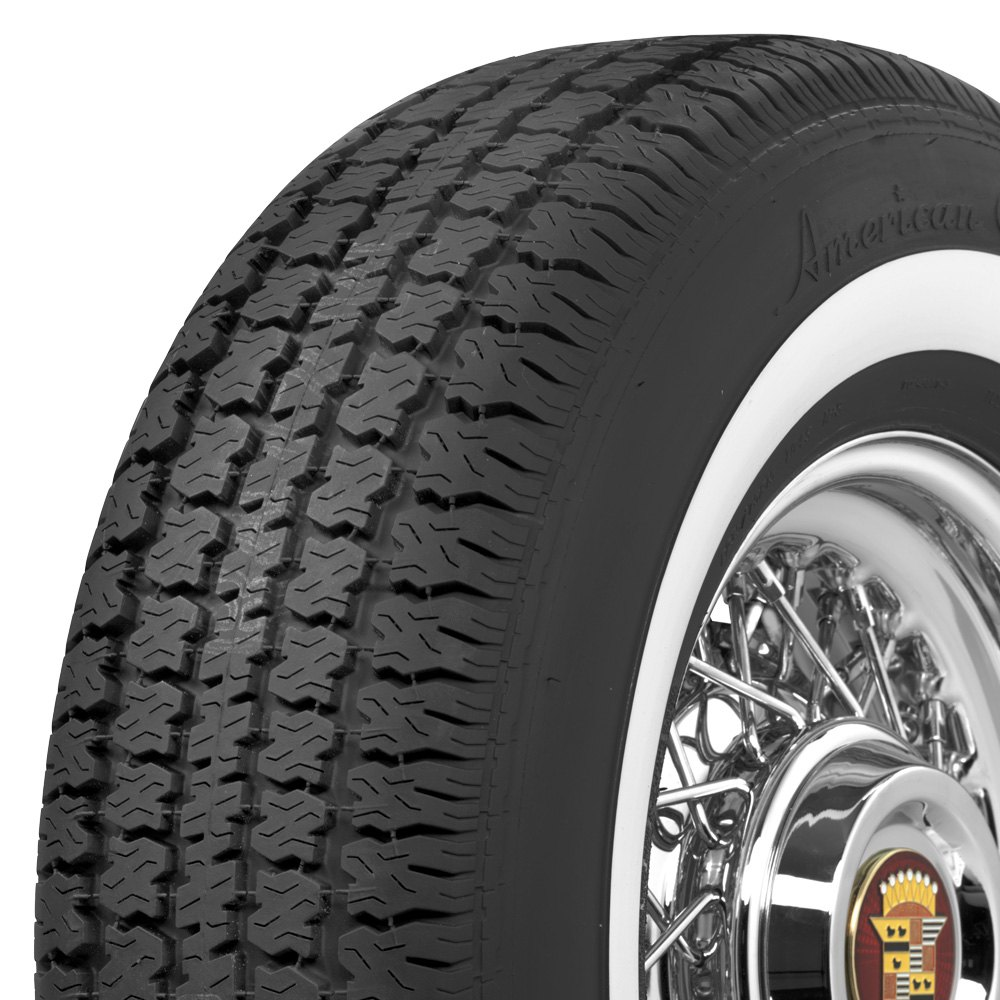 COKER Tire 700215 - American Classic 1.6 Inch Whitewall ...