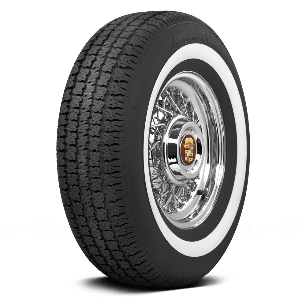 Coker american classic 1 6 inch whitewall tires for American classic