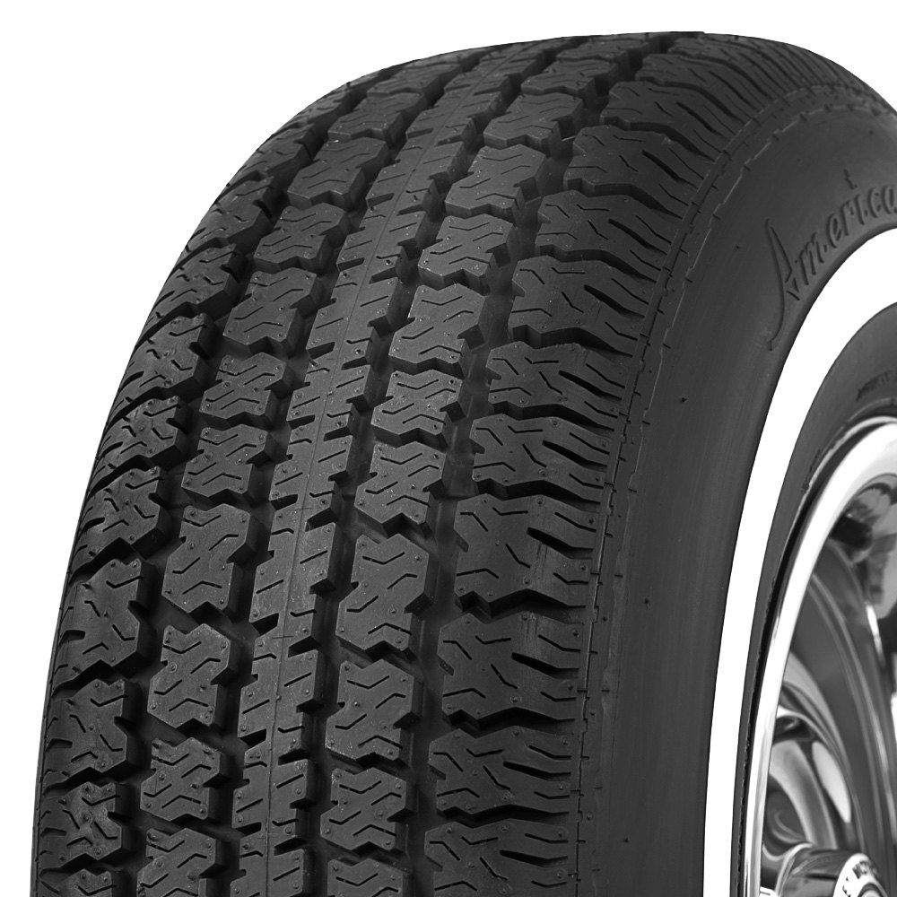 COKER Tire 547010 - American Classic 1 Inch Whitewall P235 ...