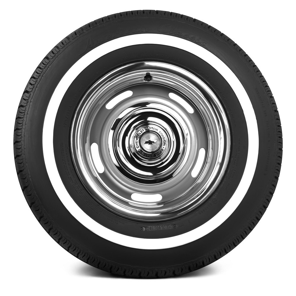 Coker american classic 1 inch whitewall tires for American classic
