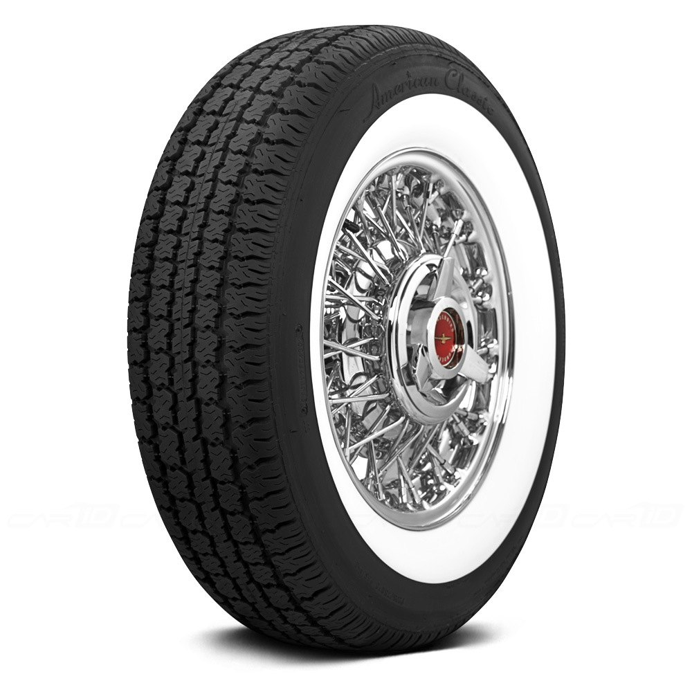 COKER Tire 530299 - American Classic 2 1/2 Inch Whitewall ...