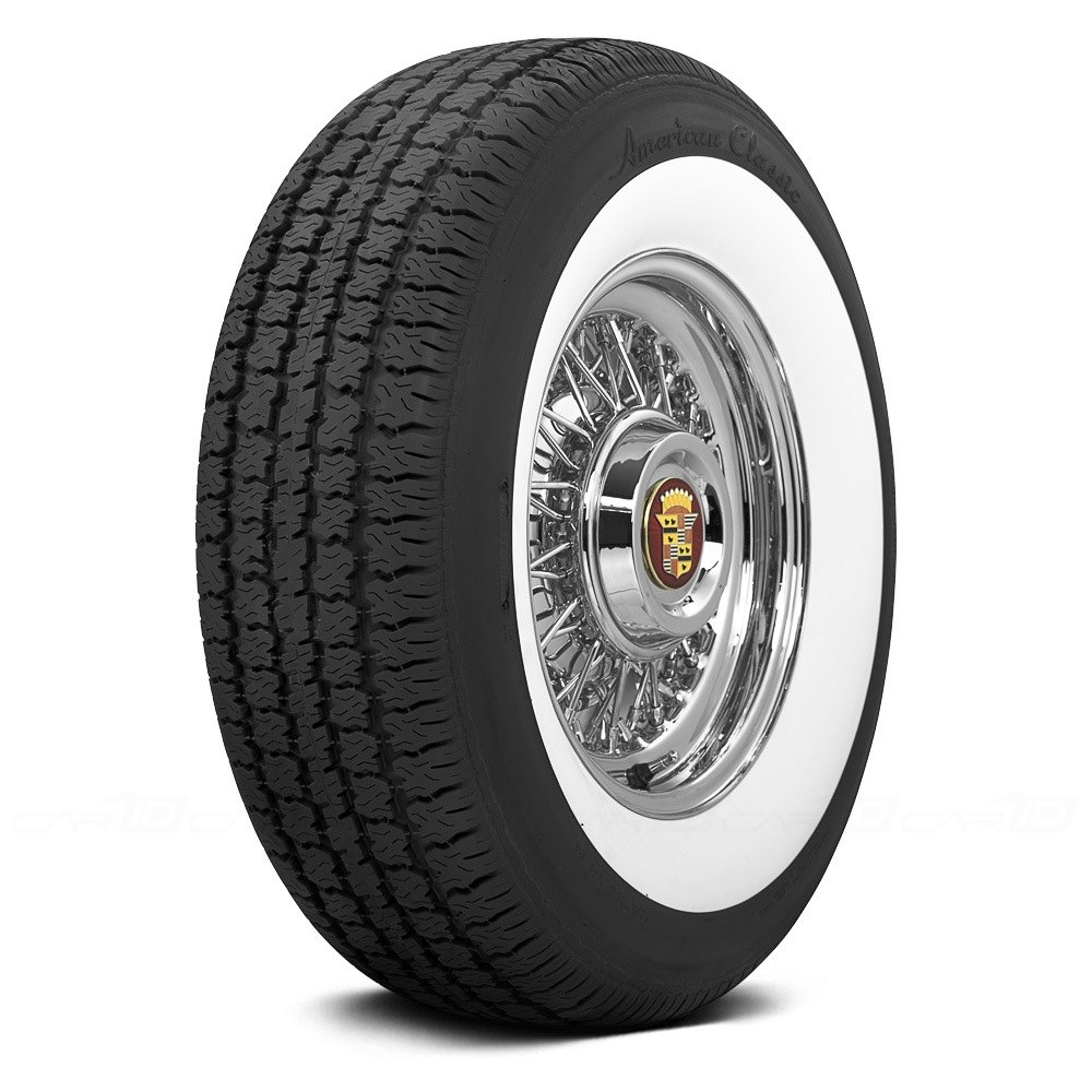 Coker american classic 2 1 4 inch whitewall tires for Classic american homes reviews