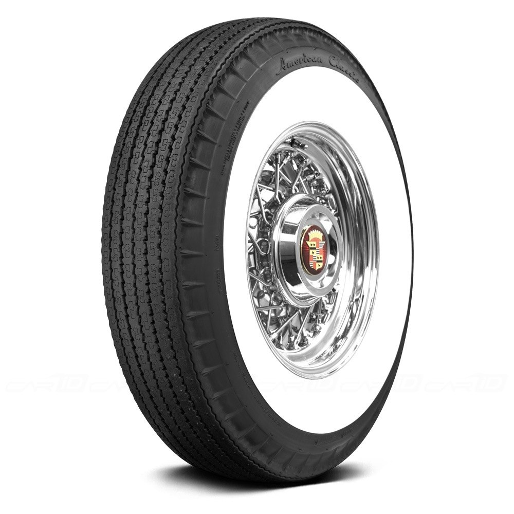 Coker american classic radial whitewall tires for American classic