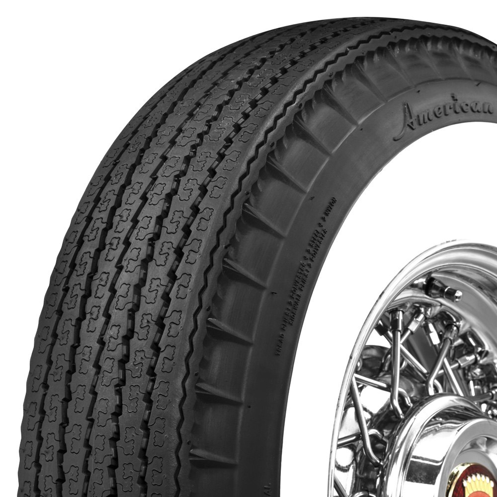 Coker 700306 american classic 3 1 4 inch whitewall 820r15 s for American classic 3