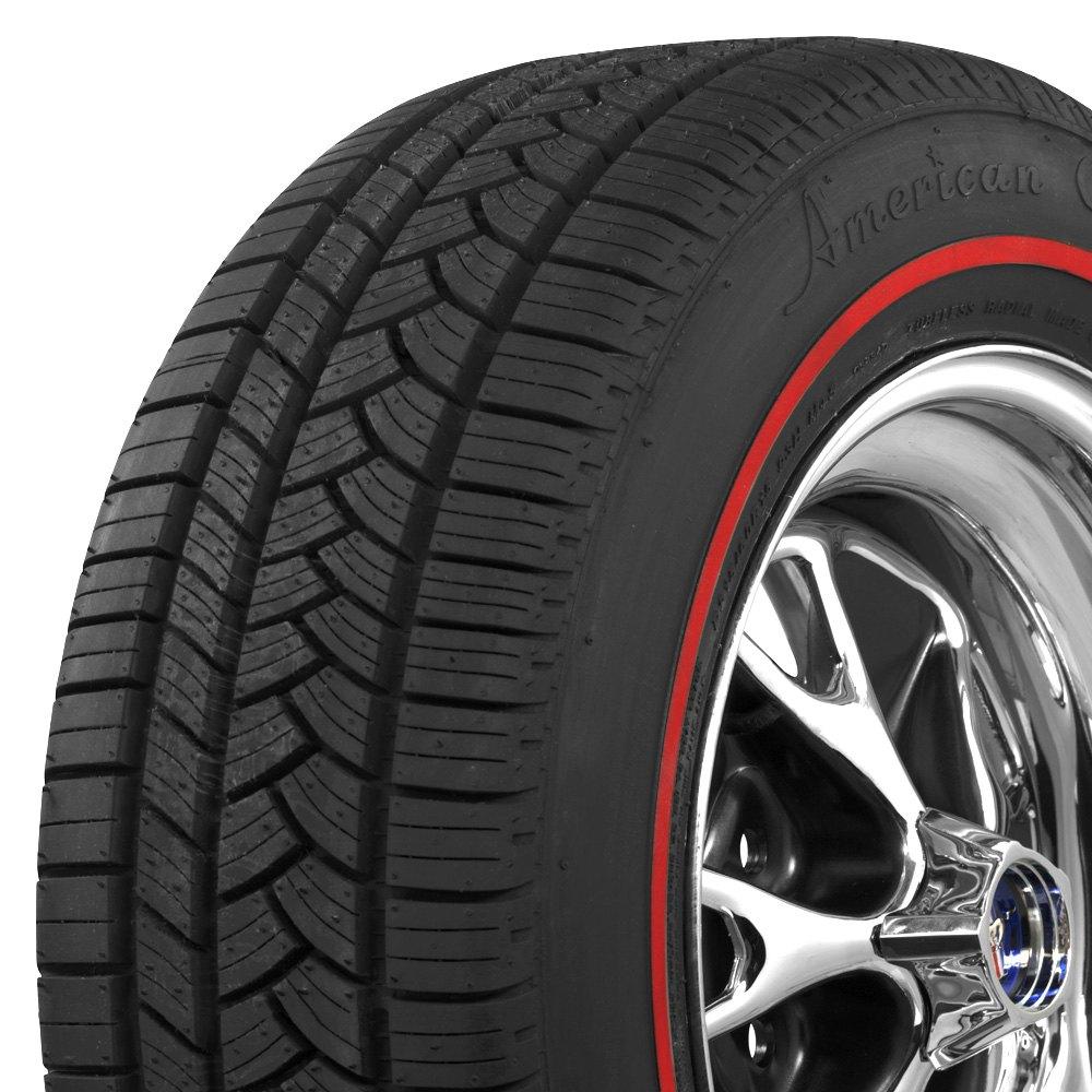 Coker tire 5797658 american classic 3 8 redline p215 for American classic 3