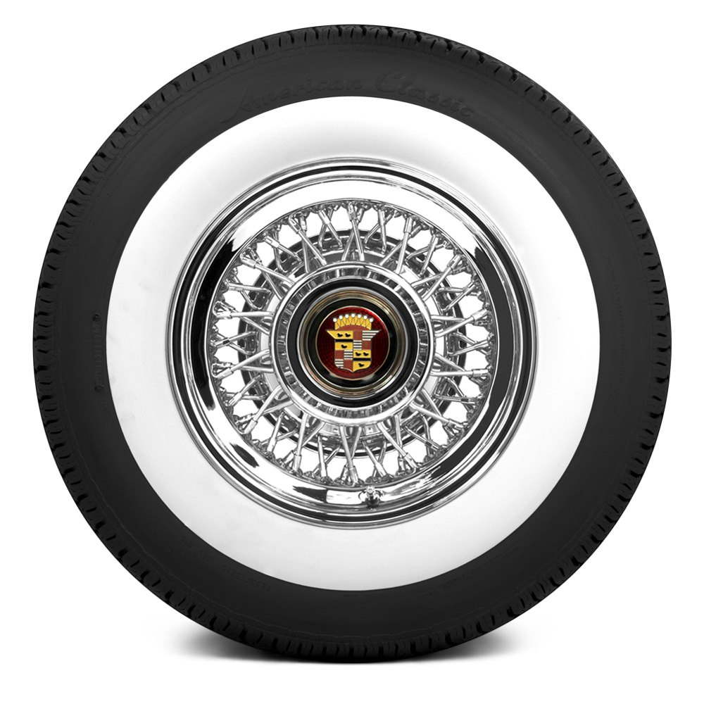 american classic 3 inch whitewall front